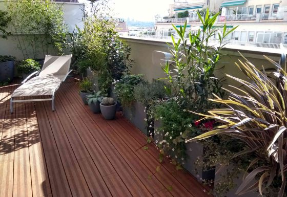 Jardineria terrazas barcelona