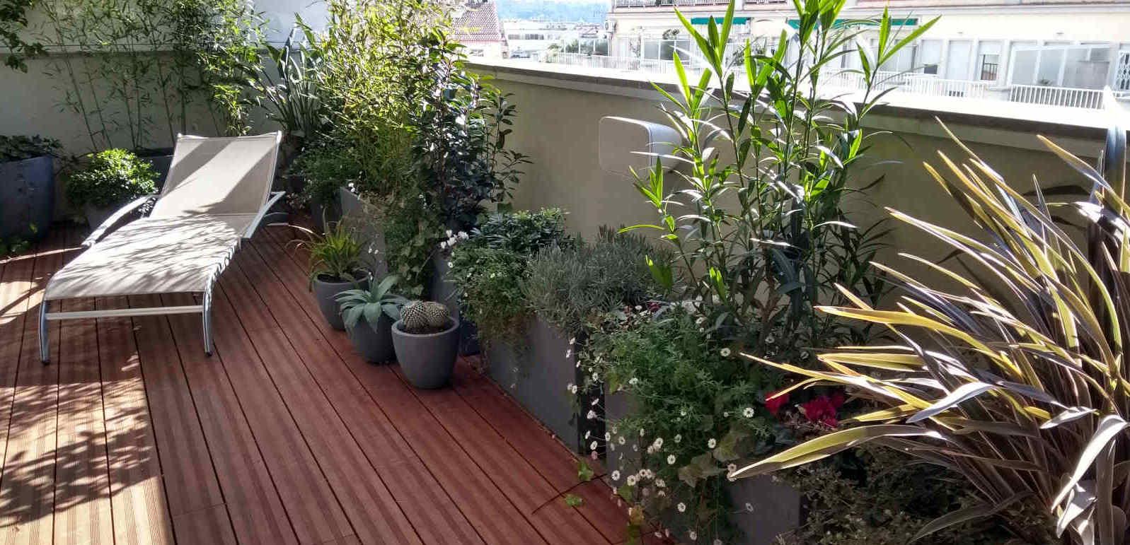 Jardineria en terrasses i balcons a Barcelona