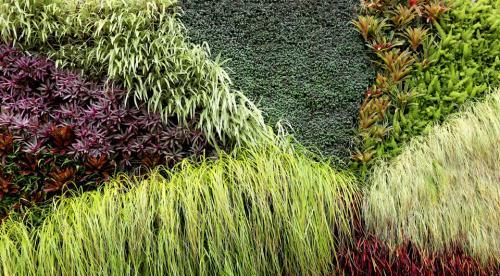 jardín vertical diseño