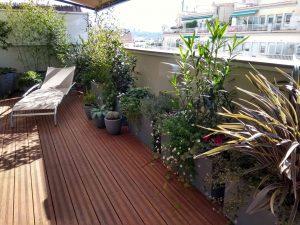 jardinería terrazas
